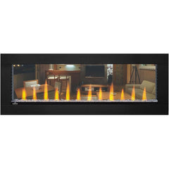 Napoleon CLEARion™ Built-In Two-Sided See-Through Electric Fireplace with Black Surround NEFBD50H, 50""