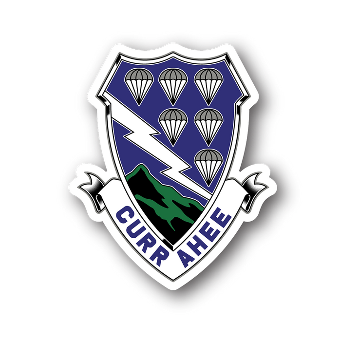 506th Currahee Traditional Premium Sticker