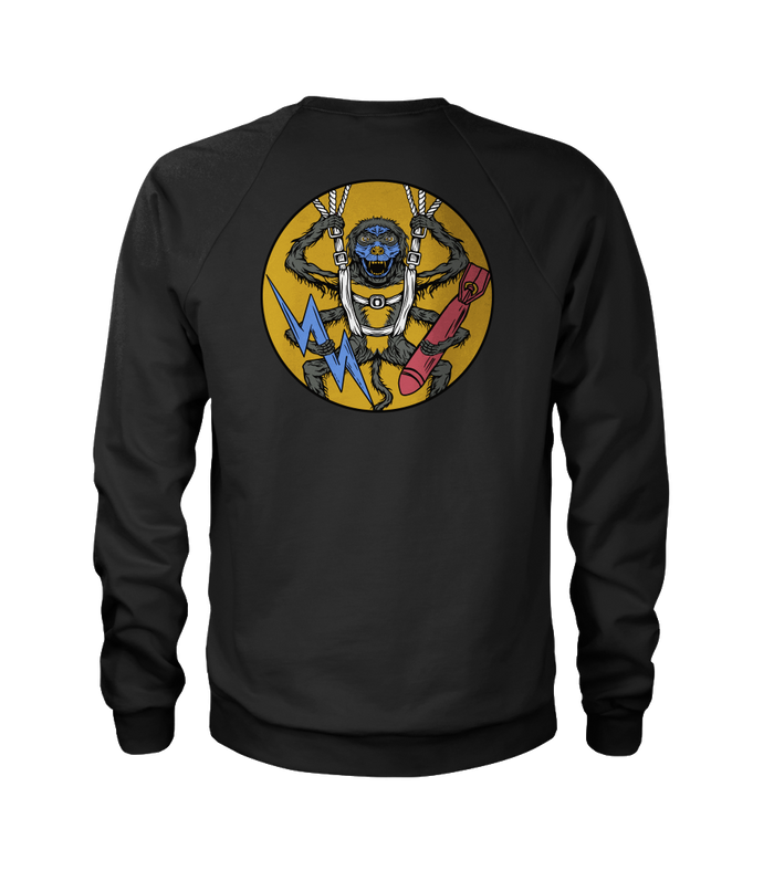 507th Spider Monkey Remastered Crewneck Sweatshirt