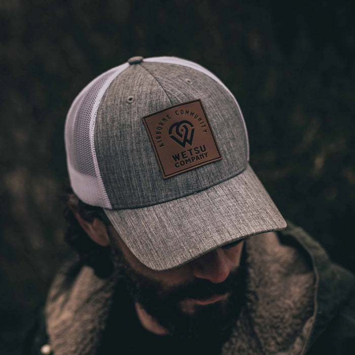 Airborne Community Leather Patch Hat