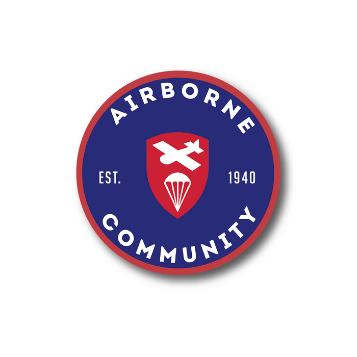 Airborne Community Sticker