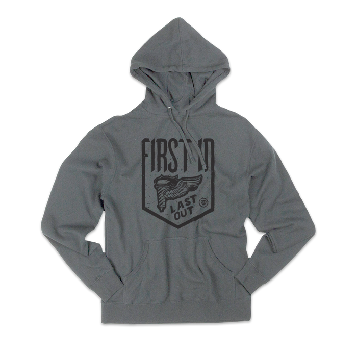 FILO Torch Midweight Grey Hoodie