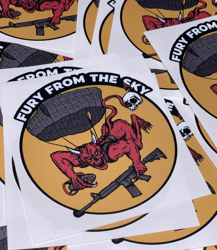 508th FFTS Remastered Sticker