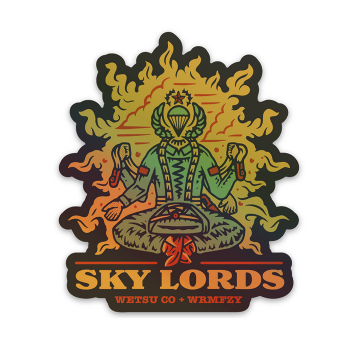 Skylords Holographic Mini Sticker
