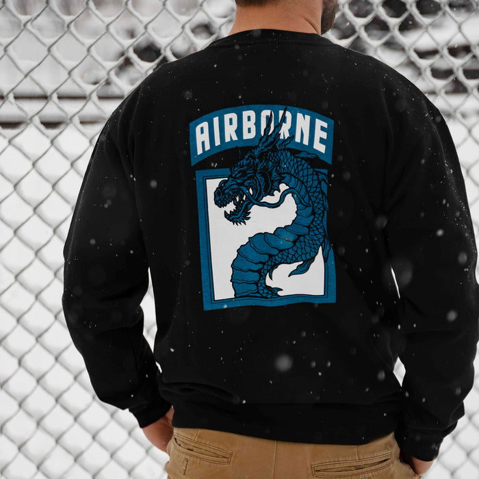 18th Airborne Dragon Remastered Crewneck