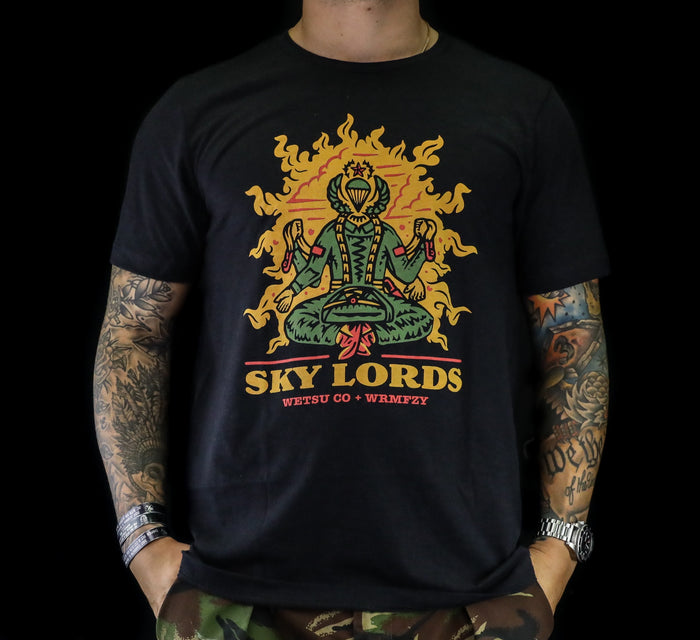 WETSU Airborne Sklords Collab with Wrm.fzy Shirt