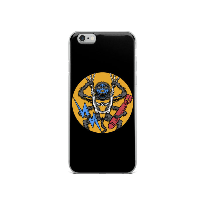 507th Spider Monkey Remastered iPhone Case
