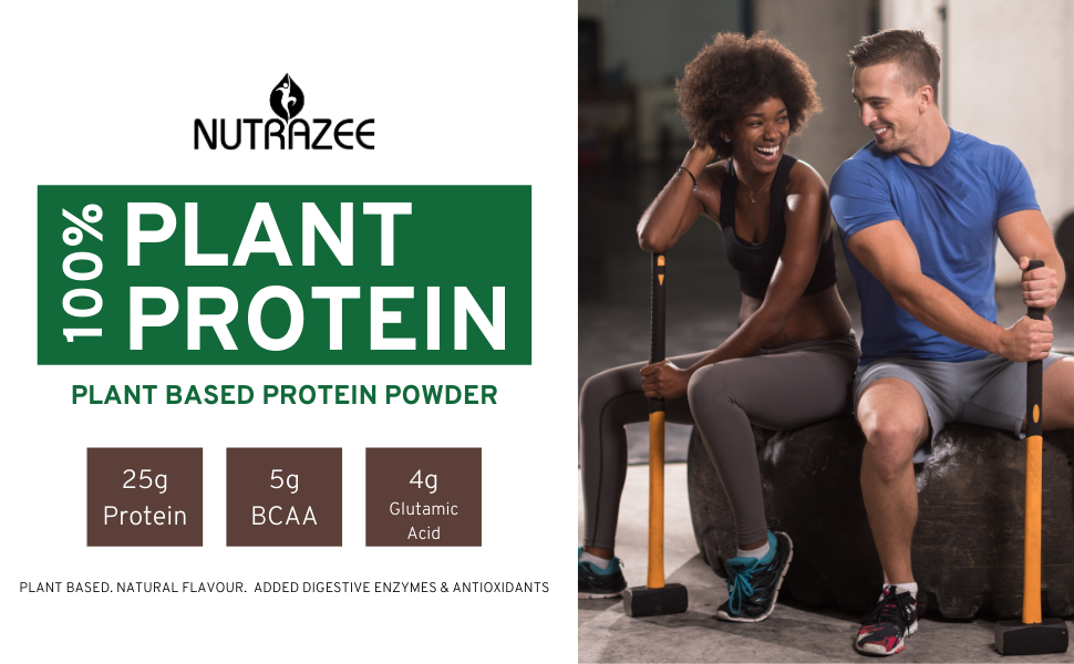 Nutrazee Plant Based Vegan Protein Powder