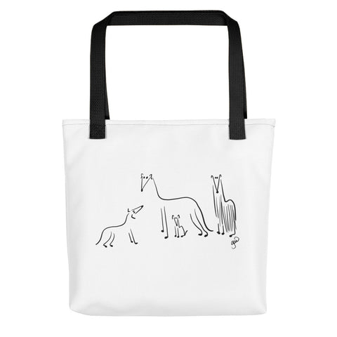 Greyhound Borzoi Whippet Italian Greyhound Tote bag