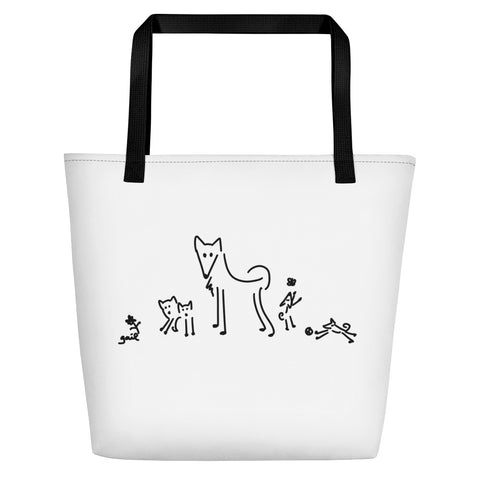 Elkhound Family Large Bag