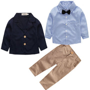 Tevren-4 Piece Jacket, Shirt, Pants & Bowtie Set