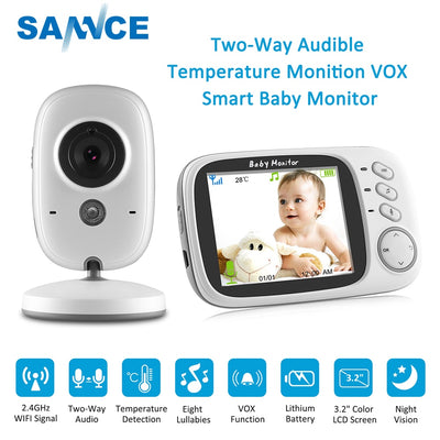 SANNCE 3.2 inch Wireless  Baby Monitor