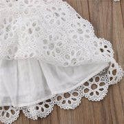 When Baby and Mommy Love Lace Dress