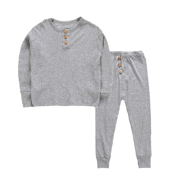 Domo-Comfy Long Sleeve Pajama Set