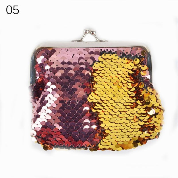 Fashion Sequins Clutch Wallet