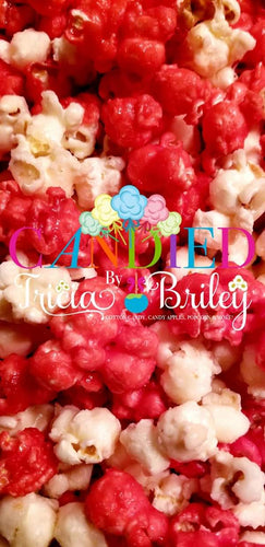 Strawberry Cheesecake Gourmet Popcorn