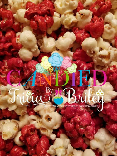 Red Velvet Cream Cheese Gourmet Popcorn