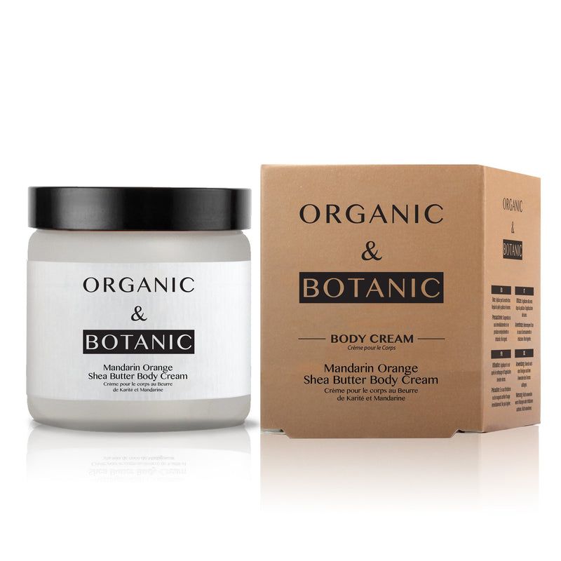 Organic & Botanic Mandarin Orange and Shea Butter Body Cream 100ml