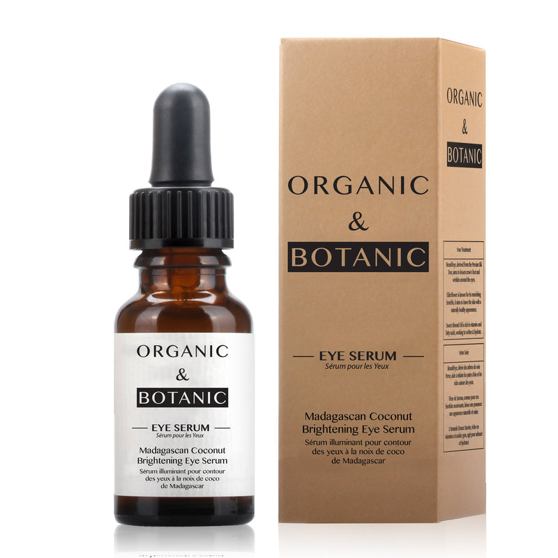 Organic & Botanic Madagascan Coconut Brightening Eye Serum