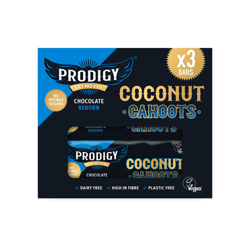 Prodigy Coconut Cahoots Bar (Multipack 3x 45g bar)