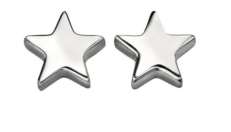 Beginnings Sterling Silver Star Stud Earrings