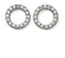 Beginnings Sterling Silver Pave Cubic Zirconia Circle Earrings