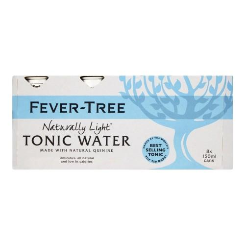 Fever-Tree Refreshingly Light Tonic Water 8 x 150