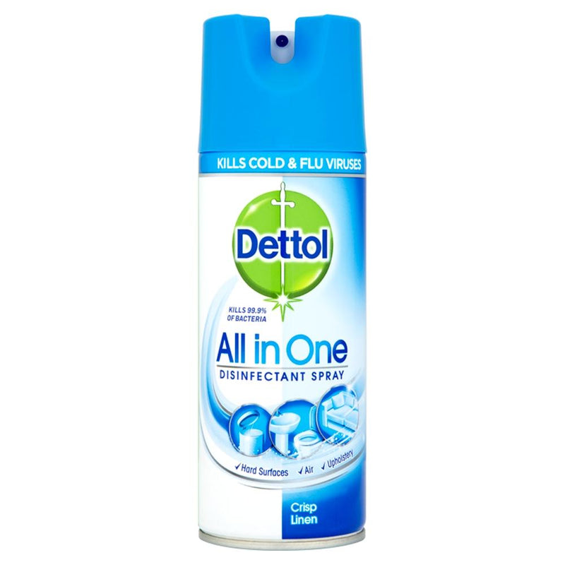 Dettol All-in-One Disinfectant Spray, 400ml