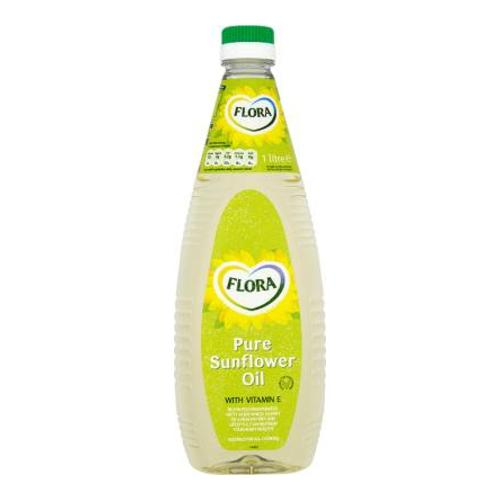 Flora Pure Sunflower Oil with Vitamin E 1 Litre