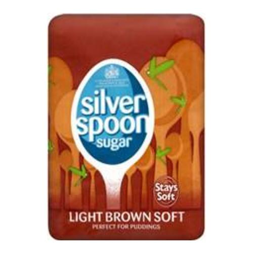 Silver Spoon Light Brown Soft 500g