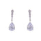Loverocks CZ Pear Drop Chic Earring