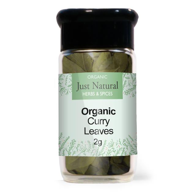 Just Natural Curry Leaves (Glass Jar) 2g