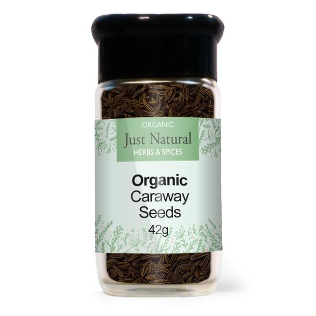 Just Natural Caraway Seeds (Glass Jar) 42g