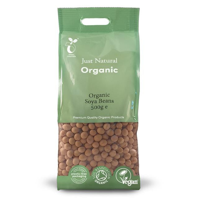 Just Natural Organic Soya Beans 500g