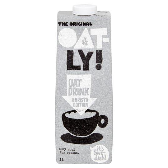 Oatly Oat Drink Barista Edition 1 Litre