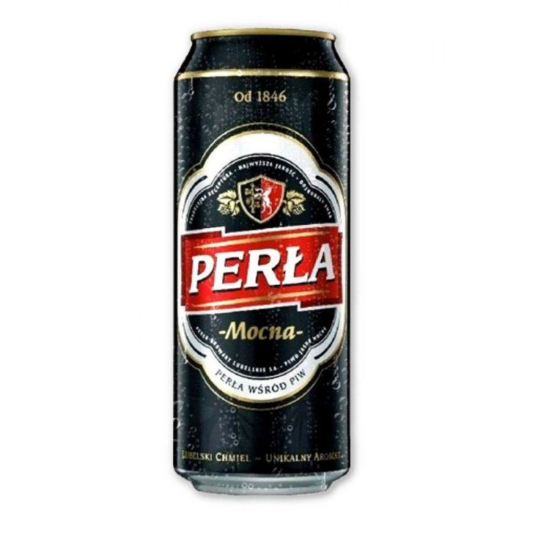 Perla Mocna (Strong) Beer 500ml