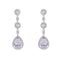 Loverocks CZ Elegant Long Earring