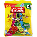 Maynards Bassetts Jelly Babies £1 Tropical Sweets Bag 165g