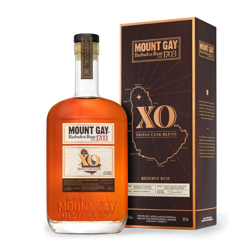 Mount Gay XO Triple Cask Blend Rum 70cl
