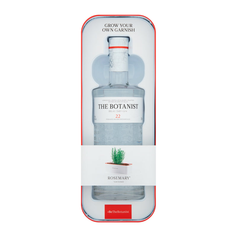 The Botanist Islay Dry Gin 70cl (Tin Planter Gift Pack)