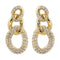 Loverocks Three Link Chain Earring