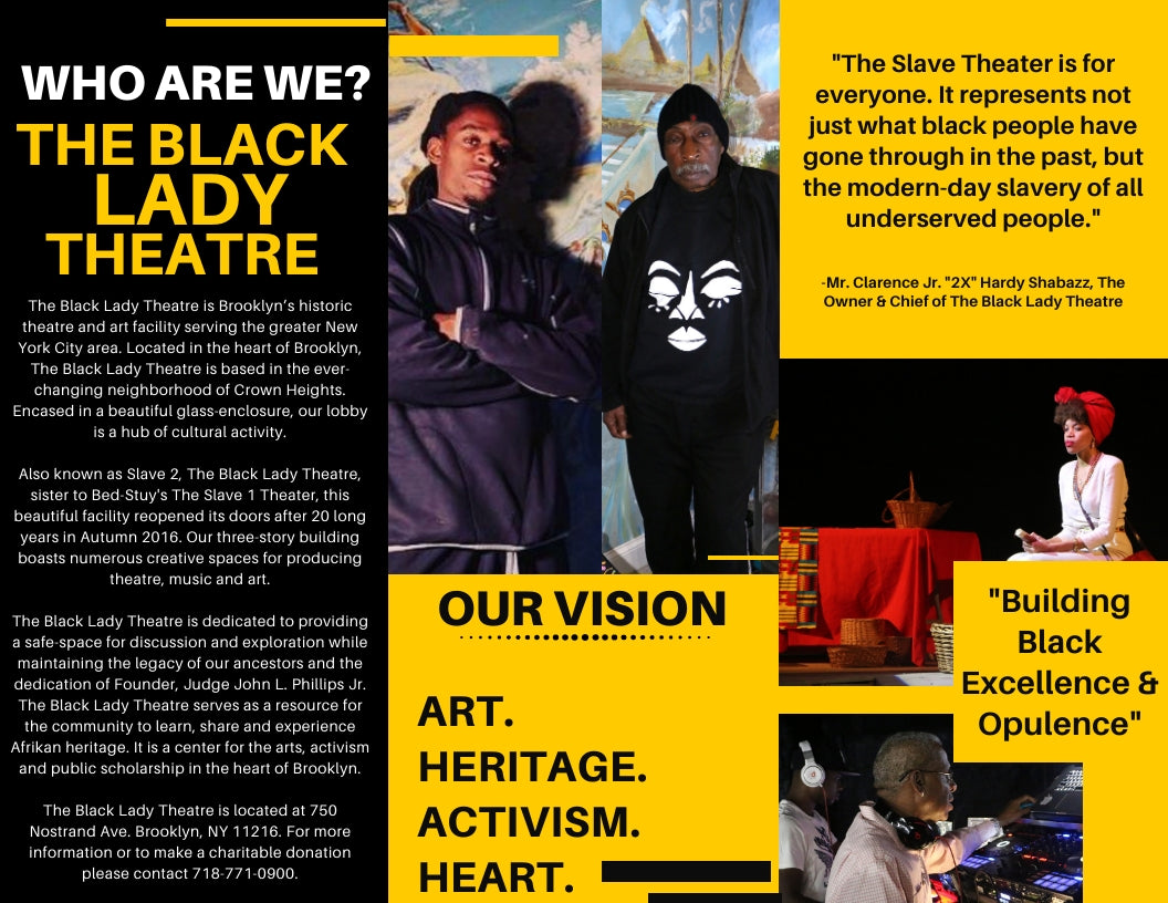 About The Black Lady Theatre