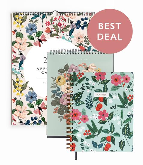 Planner & Calendar | Set of 3 | Build Your Own Set