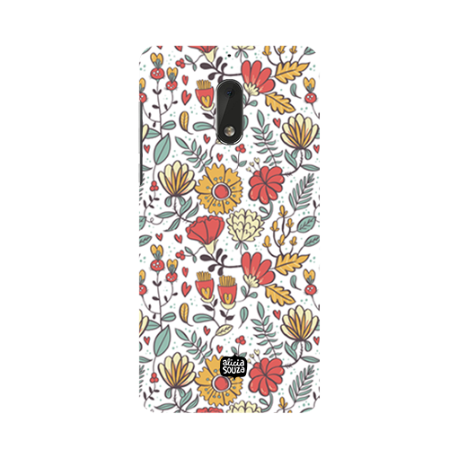 Big Flowers - Nokia 6 Phone Cover