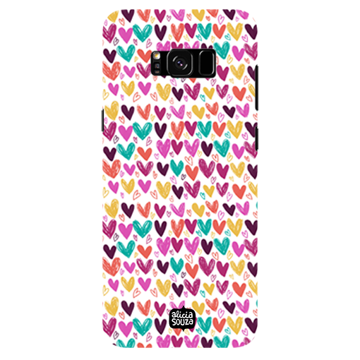 Hearts - Samsung Galaxy S8 Plus Phone Cover