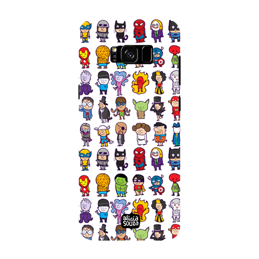 Superhero - Samsung Galaxy S8 Phone Cover