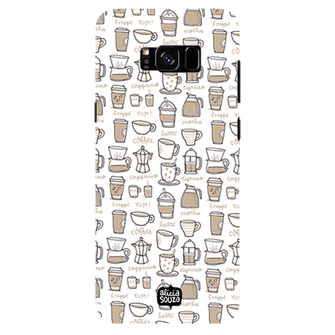 Coffee - Samsung Galaxy S8 Plus Phone Cover