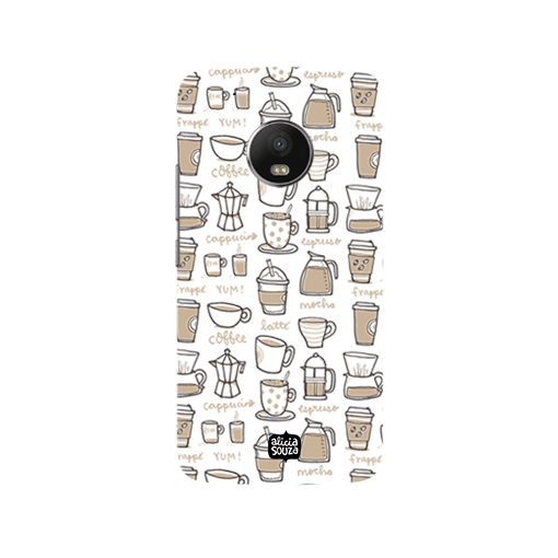 Coffee - Moto G5 Plus Phone Cover