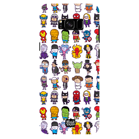 Superhero - Samsung Galaxy S8 Plus Phone Cover