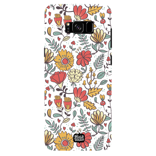 Big Flowers - Samsung Galaxy S8 Plus Phone Cover